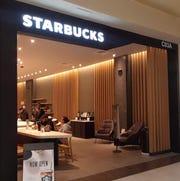 Grab a cappucino at the Starbucks that has reopened at Cielo Vista Mall.