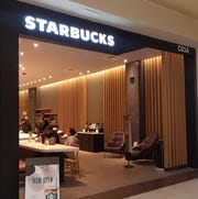 Grab a cappucino at the Starbucks that has reopened at Cielo Vista Mall.
