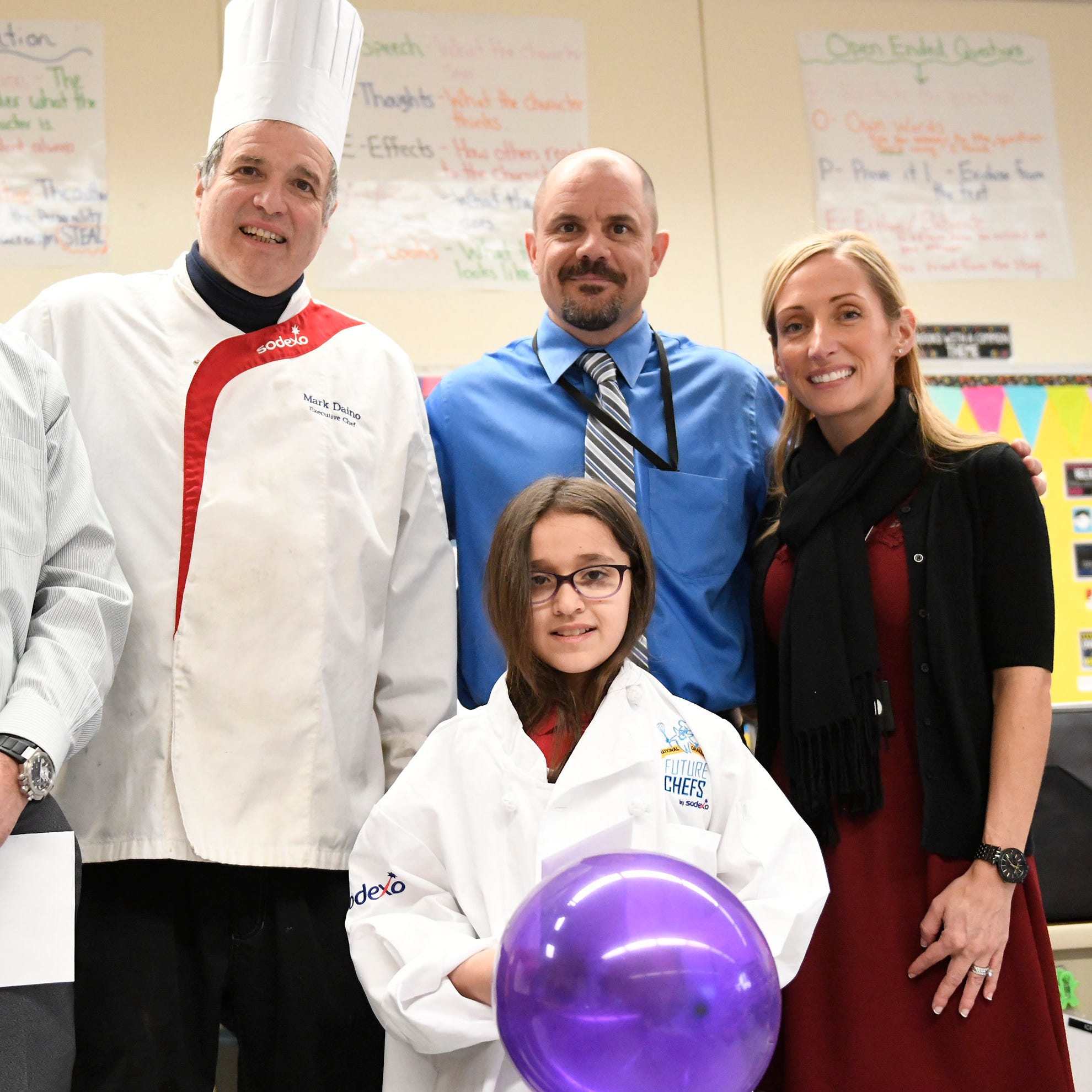 Sodexo surprises Vineland student with invitation to cooking competition