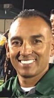 Carlos Barajas is the new head football coach at Dinuba High School.