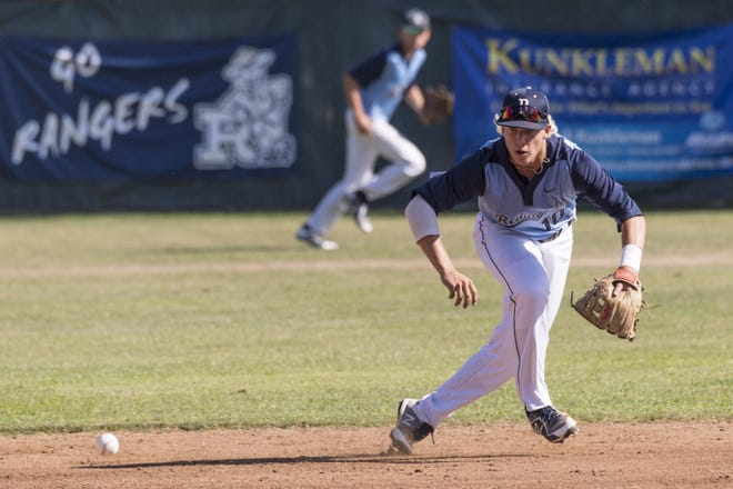Redwood's Hunter Bryan is a three-year starter on the Rangers' baseball team.