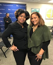Ms. Marricka Scott-McFadden, Deputy Borough President, Office of the Bronx Borough President, and Ms. Cristina Contreras, Executive Director, NYC Health + Hospitals/North Central Bronx