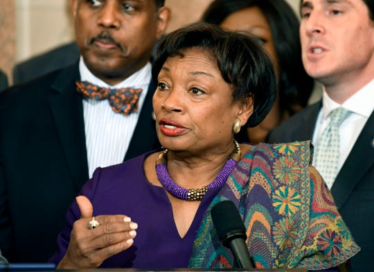 Senate Majority Leader Andrea Stewart-Cousins, D-Yonkers, said Tuesday that Democrats will pass a bill banning undetectable guns in New York. The measure is likely to become law.