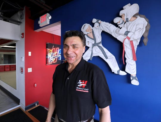 Dr. Arnold van Deuren, an eighth-degree black belt, founder and director of the CounterStrike program at The Workout Place in Nanuet Feb. 28, 2019.