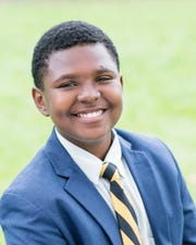 Elijah Jones is a junior at The Tatnall School, where he is co-president of the Black Student Union and a junior class student leader.