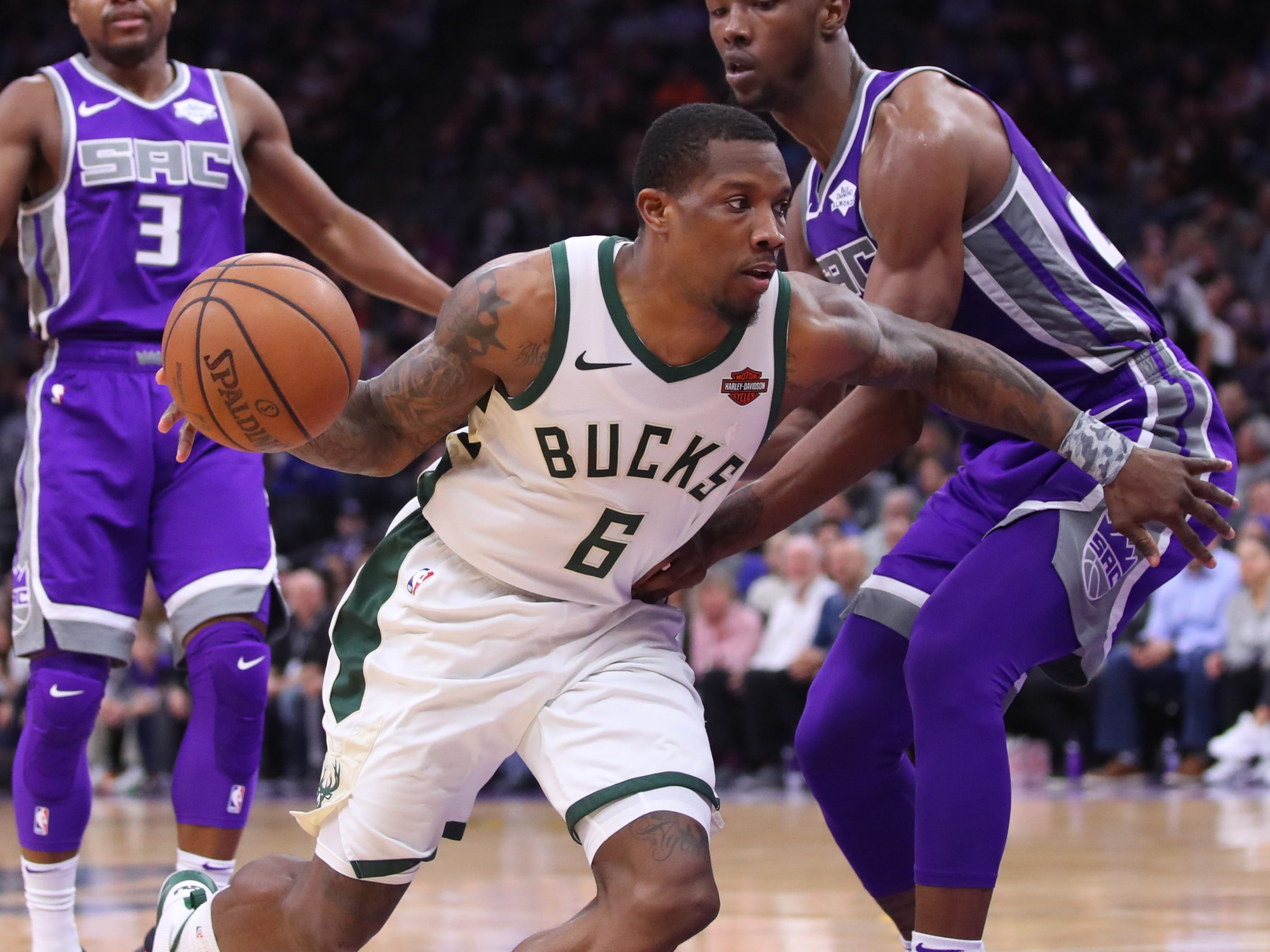 89. Eric Bledsoe, Bucks (Feb. 27): 26 points, 13 assists, 12 rebounds in 141-140 win over Kings.