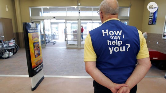Walmart is replacing its greeters with customer hosts.