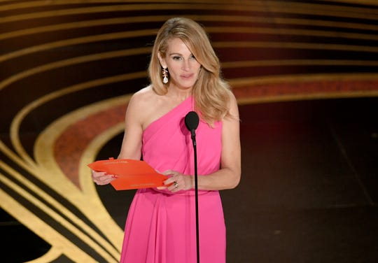 HOLLYWOOD, CALIFORNIA - FEBRUARY 24: Julia Roberts speaks onstage during the 91st Annual Academy Awards at Dolby Theatre on February 24, 2019 in Hollywood, California. (Photo by Kevin Winter/Getty Images) ORG XMIT: 775287314 ORIG FILE ID: 1131932062