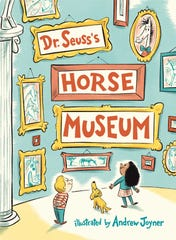 """This cover image released by Random House Children's Books shows """"Dr. Seuss's Horse Museum,"""" a new book by the late children's author, coming Sept. 3. (Random House Children's Books via AP) ORG XMIT: NYET425"""