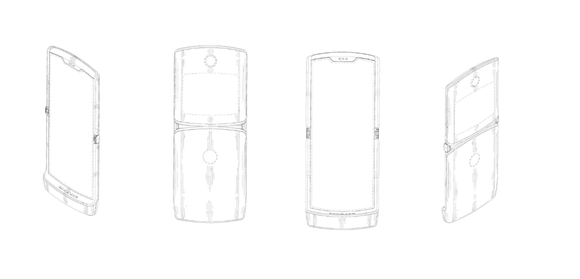 Motorola's patent for a folding phone looks a lot like a Razr.