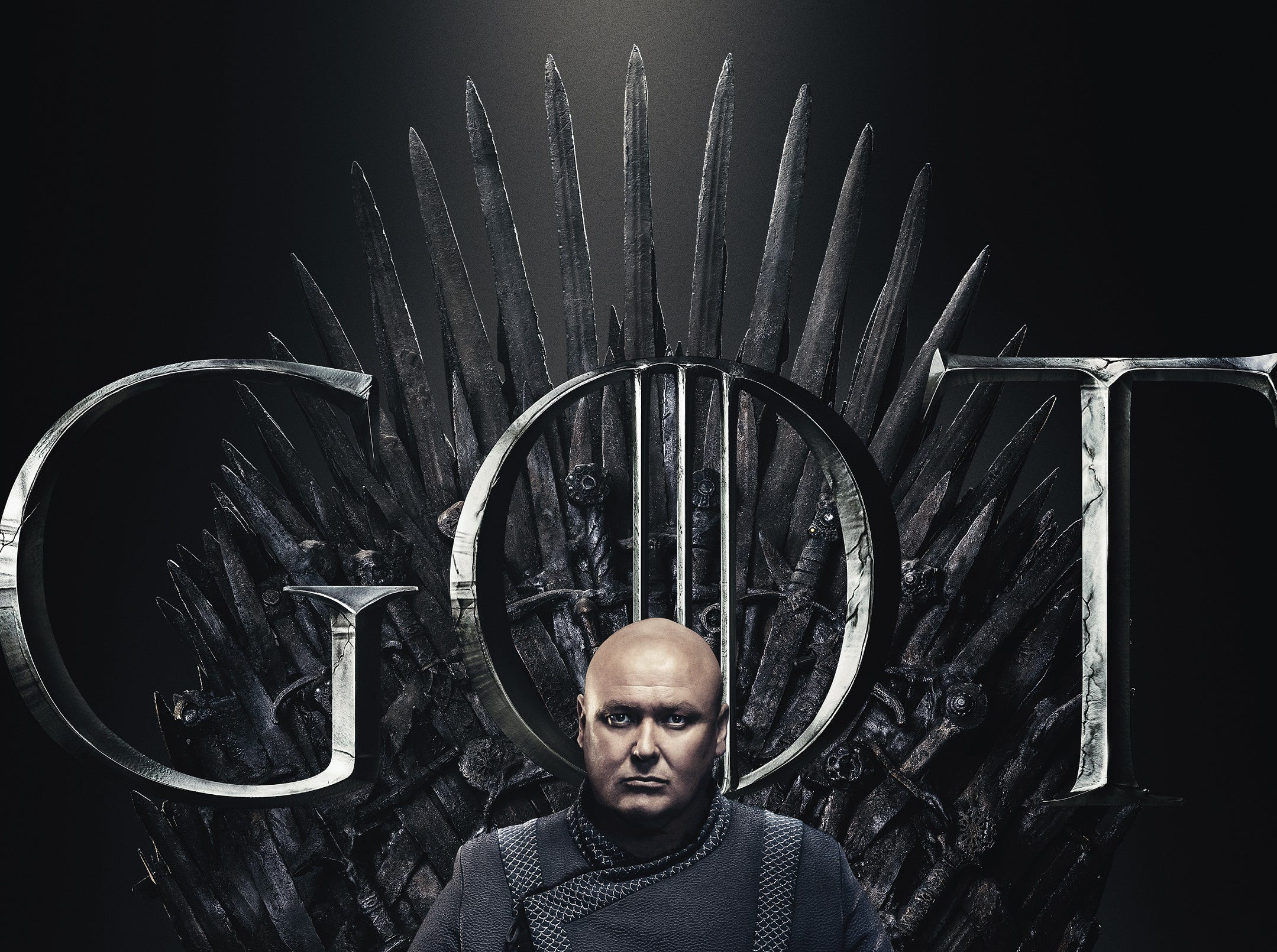 Neither is Varys (Conleth Hill), perhaps because he has so often been pulling Westeros's strings.