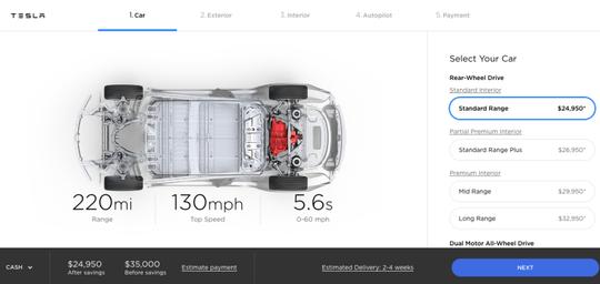 New Tesla Model 3