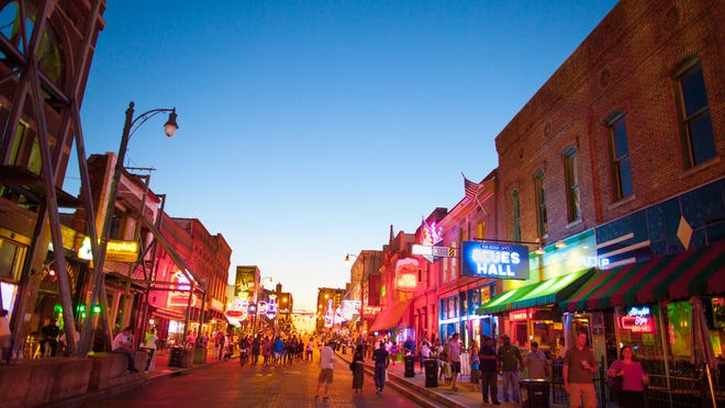 Memphis' Beale Street, the home of the Beale Street Music Festival and Memphis in May, is one of the more well-known areas where visitors can carry alcohol from one venue to another and consume alcohol in public. The Arkansas House recently approved a bill that would allow cities to designate 'entertainment districts' where patrons could drink outdoors.