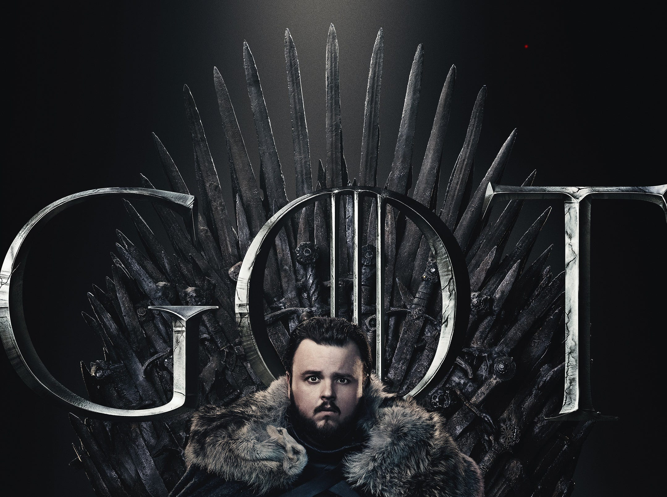 Sam (John Bradley) discovered that Dany and Jon are aunt and nephew, and his look of concern mirrors fans who then saw the pair get romantically involved.