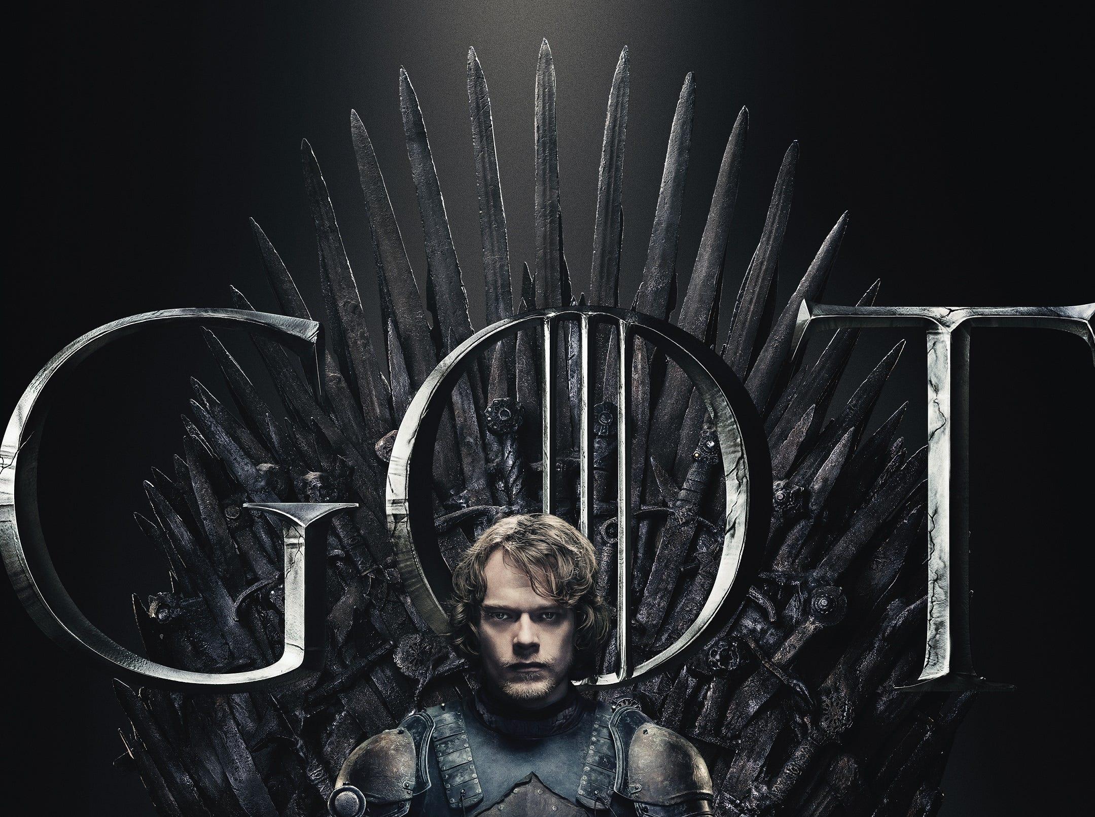 Theon (Alfie Allen) is back in his Greyjoy armor, at last.
