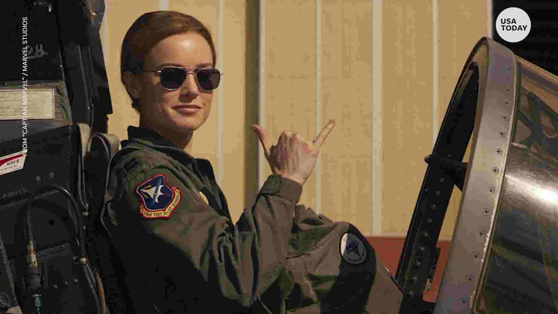 dd99ceaf9a0  Captain Marvel   Our top-secret set visit with Brie Larson and Samuel L.  Jackson