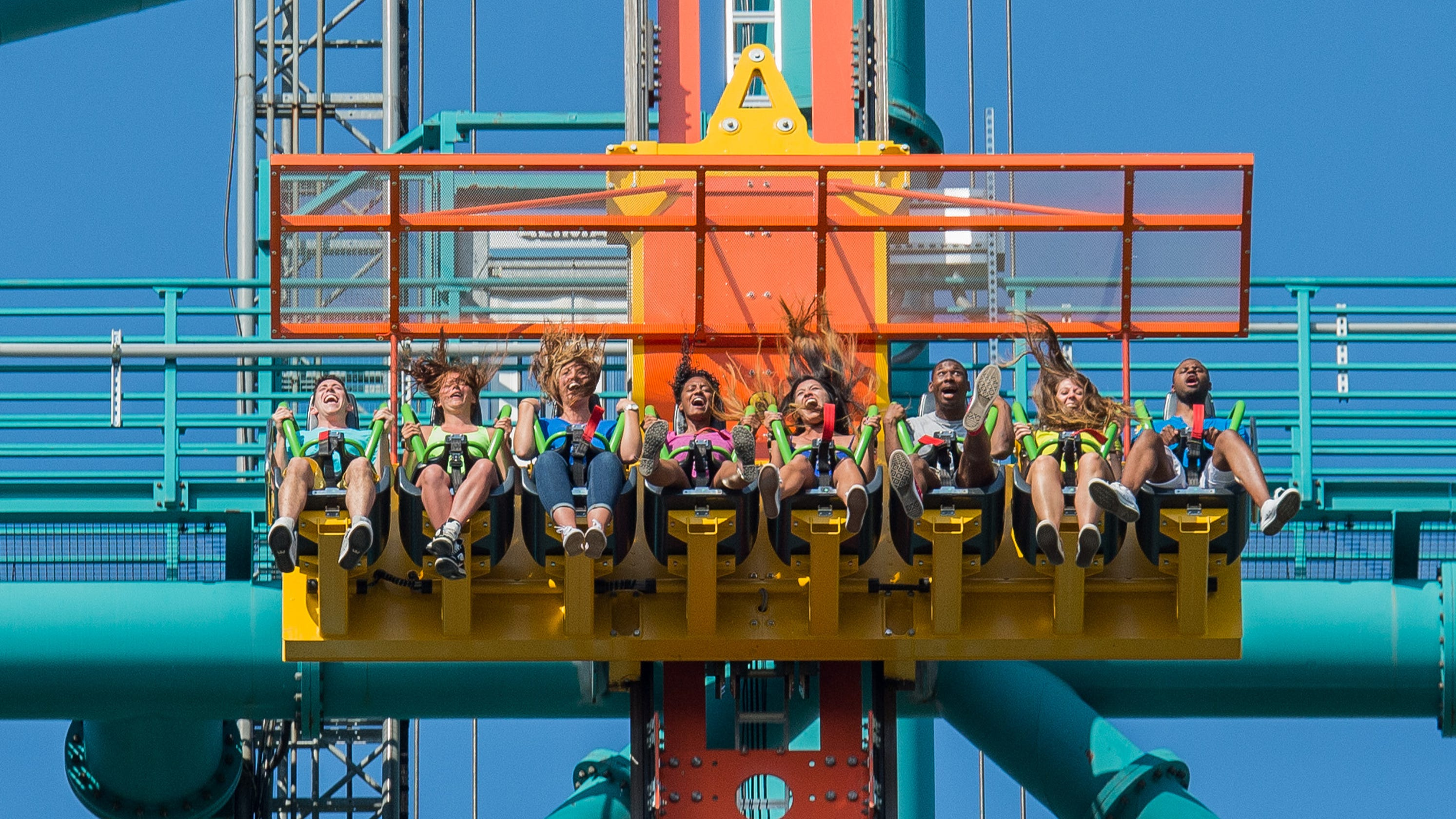 The tallest drop tower rides in North America for thrill seekers