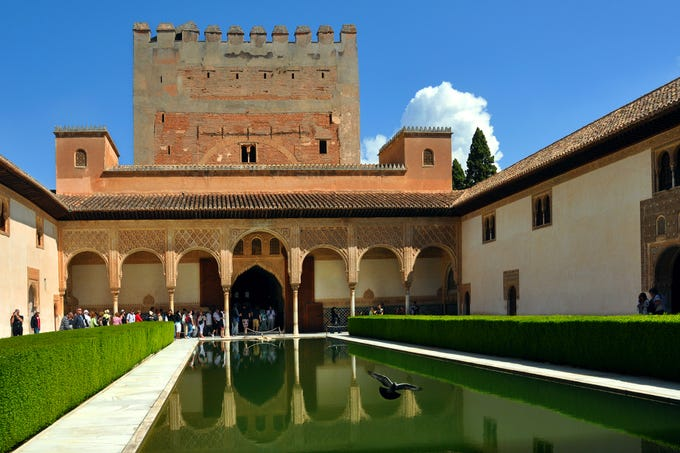 Book reserved-time tickets online as far ahead as possible for Granada's Alhambra to ensure that you'll see its best part: the exquisite Palacios Nazaríes.
