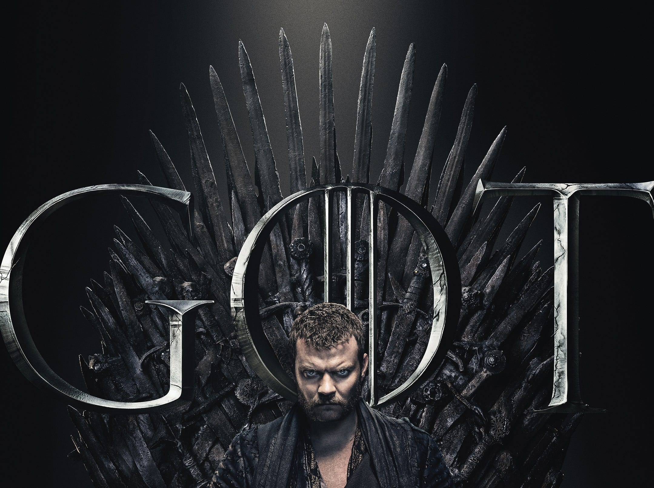 Theon's uncle Euron (Pilou Asbaek) looks just like the narrative thorn our side that he is.