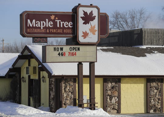 Maple Tree Restaurant & Pancake House opened in Appleton in the former Mary's Family Restaurant building at 2601 S. Oneida Street.