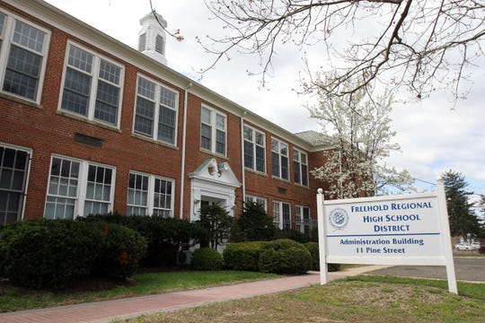 Freehold Regional High School Board of Education building in Englishtown, NJ Wednesday April 23, 2014.