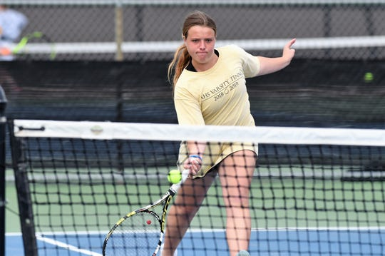 Abilene High's Rachel Tebow and girls doubles partner Lauren Schaeffer are heading to their third region tournament in four years.