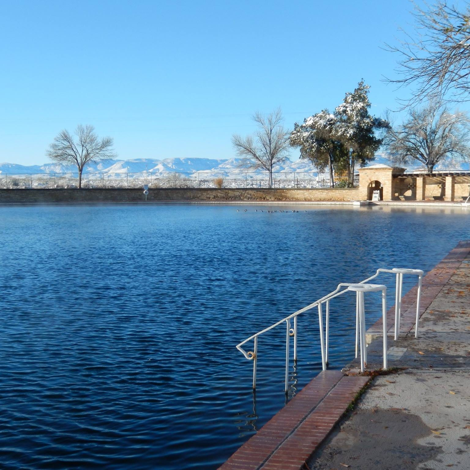 World's largest spring-fed swimming pool at Balmorhea State Park reopens