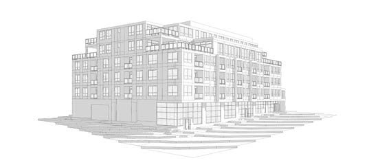 A plan has been proposed for a six-story, 79,904-square-foot mixed-use development with 37 residential units at 25 Banks Ave. in Asheville. The project is expected to be heard Monday by the city's Technical Review Committee. It also will be evaluated by the Downtown Commission before moving on to the Planning and Zoning Commission for final approval.