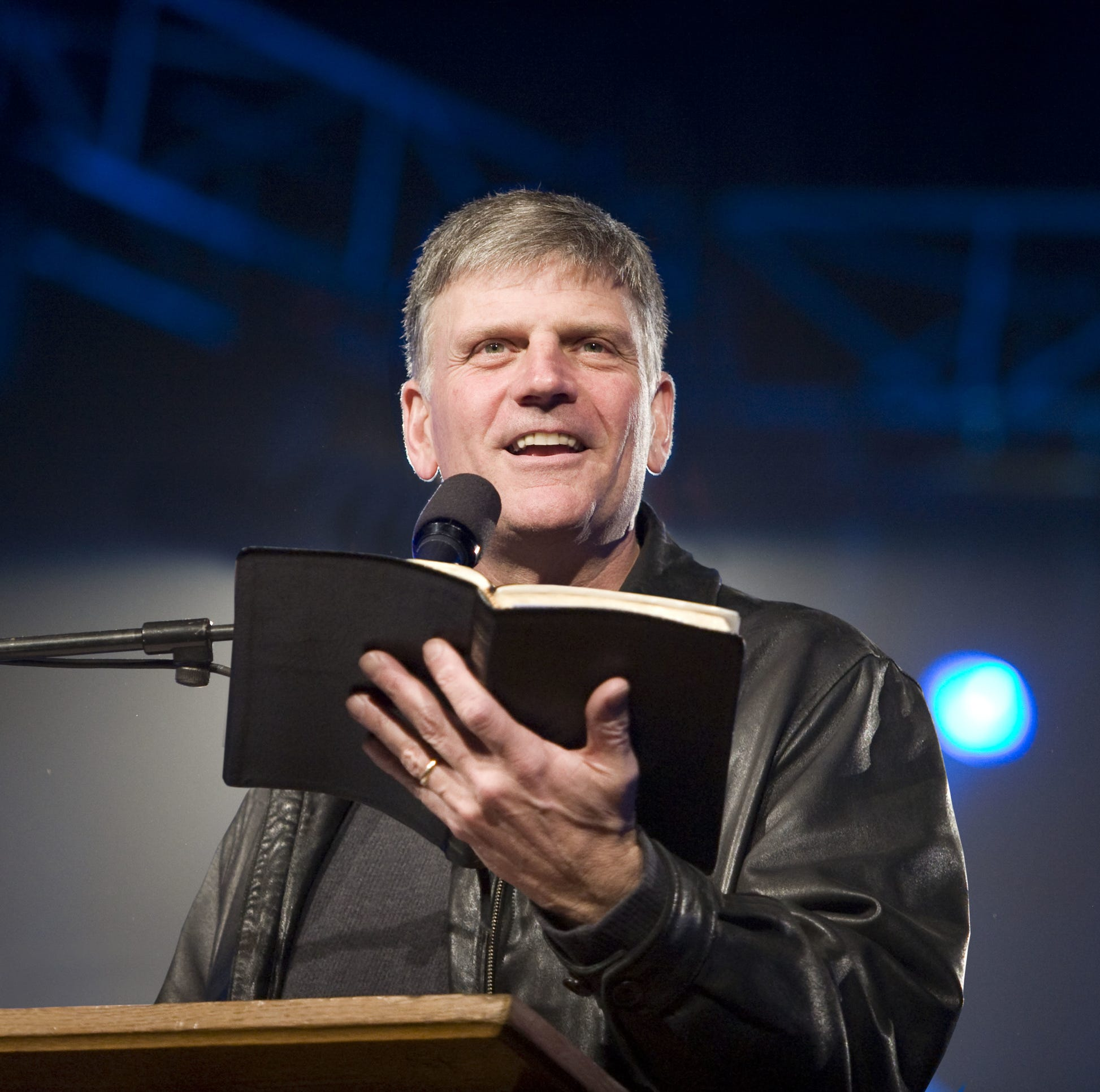 Donald Trump shill Franklin Graham says Pete Buttigieg should repent. HA!