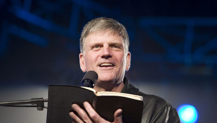 Franklin Graham weighs in on Robert Foster: 'It's just common sense'