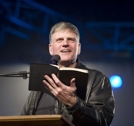 Franklin Graham, 66, still preaches a full international schedule. He also says he has provided spiritual counsel to President Trump.