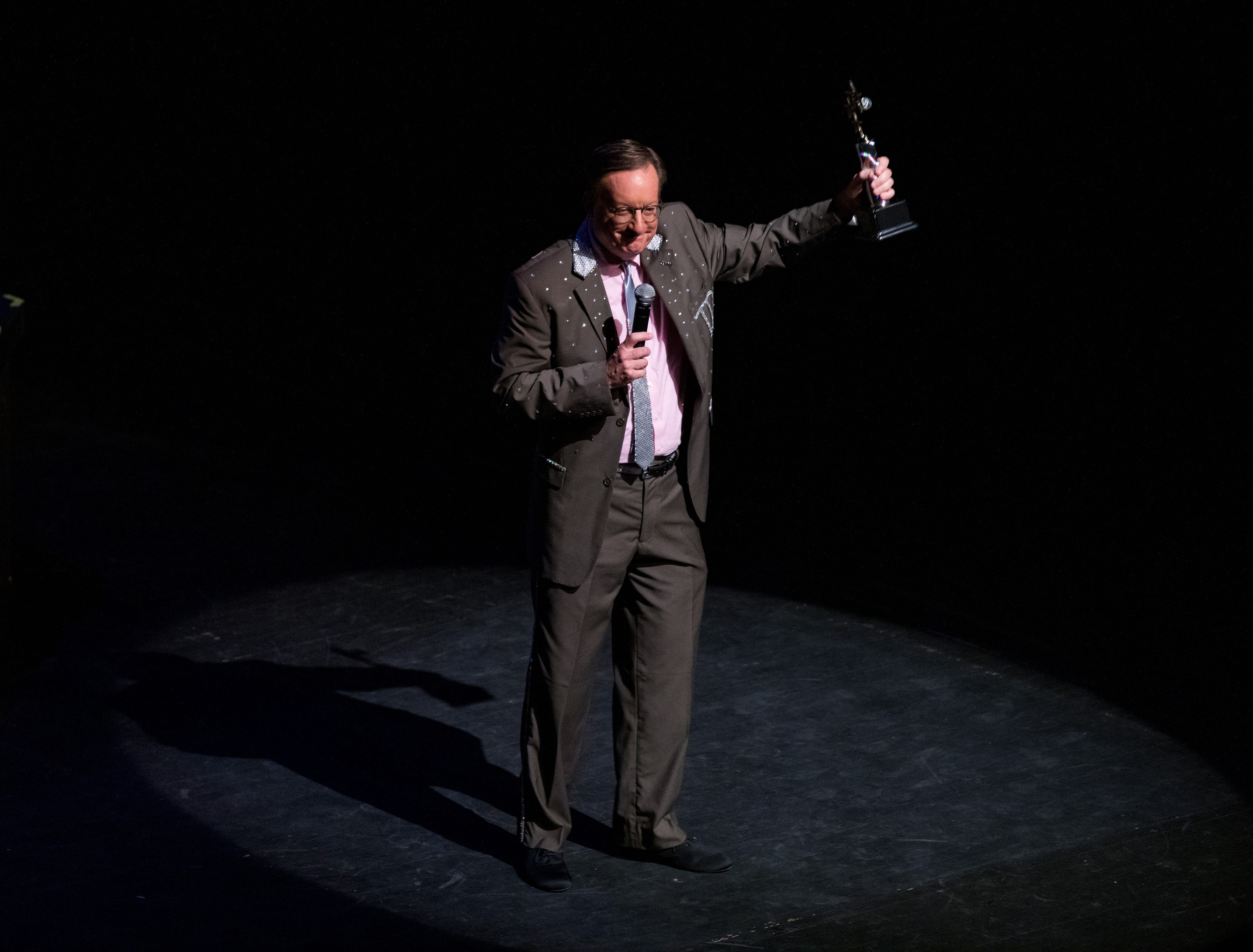 """Charles Frederick, N.C. Market President with TD Bank, won the fundraising award at the inaugural """"Dancing with the Local Stars"""" Feb. 24 in Asheville. Frederick raised more than $11,000 for the American Cancer Society."""