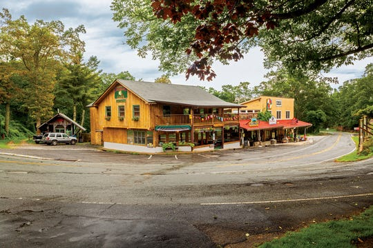 The Little Switzerland General Store and Cafe sits just off the Blue Ridge Parkway near Spruce Pine.