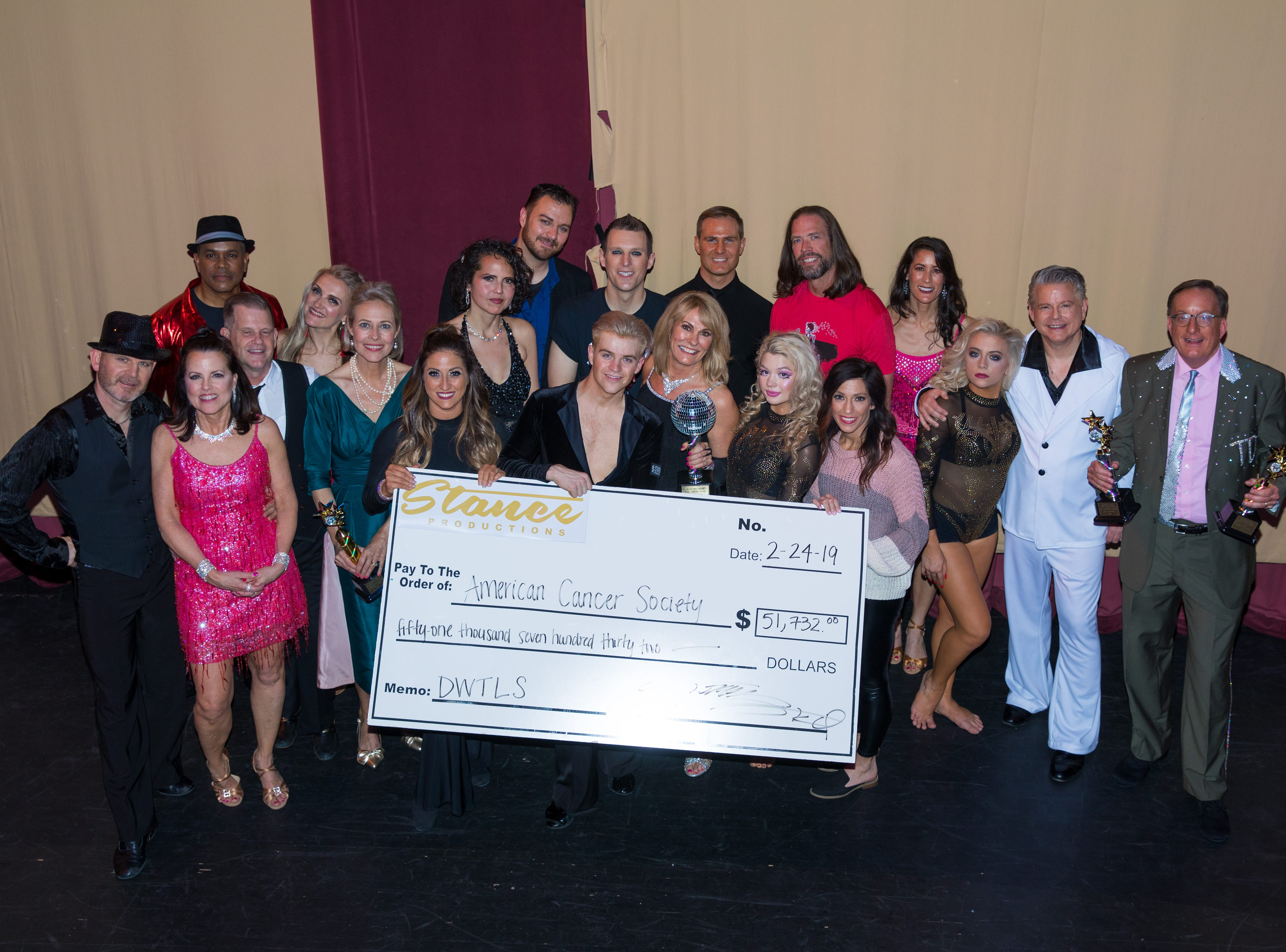 This year's Dancing With Local Stars raised over 50,000 for ACS.