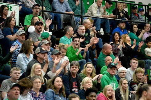 Mountain Heritage defeated West Davidson 66-38 during their playoff game at Mountain Heritage High School on Feb. 28, 2019.
