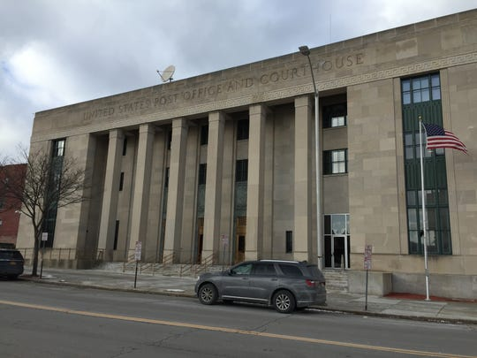 The federal building in Binghamton, New York.