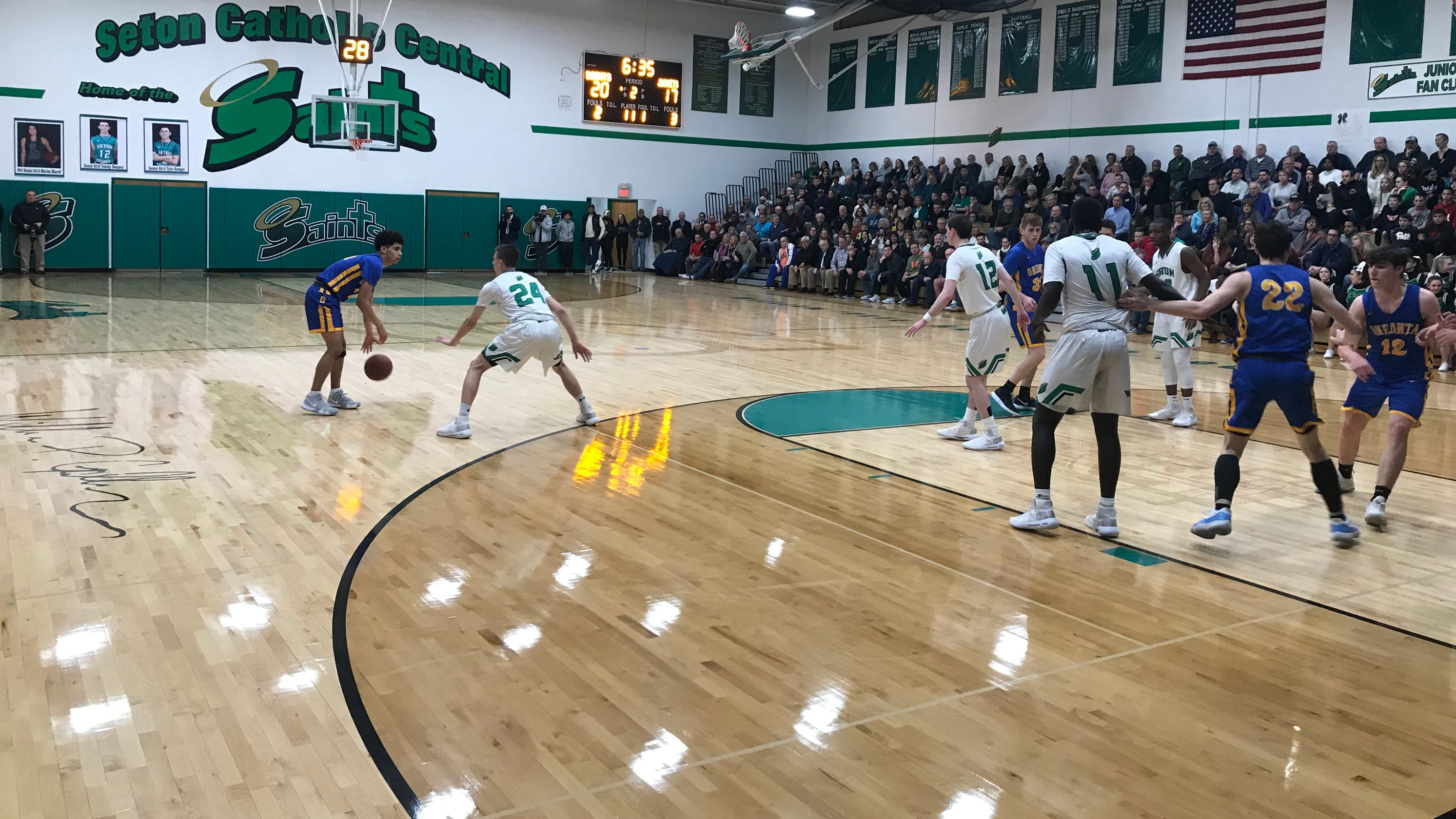 Oneonta Finals Schedule Fall 2019 Boys Basketball: Seton CC handles Oneonta on way to Section 4 'B