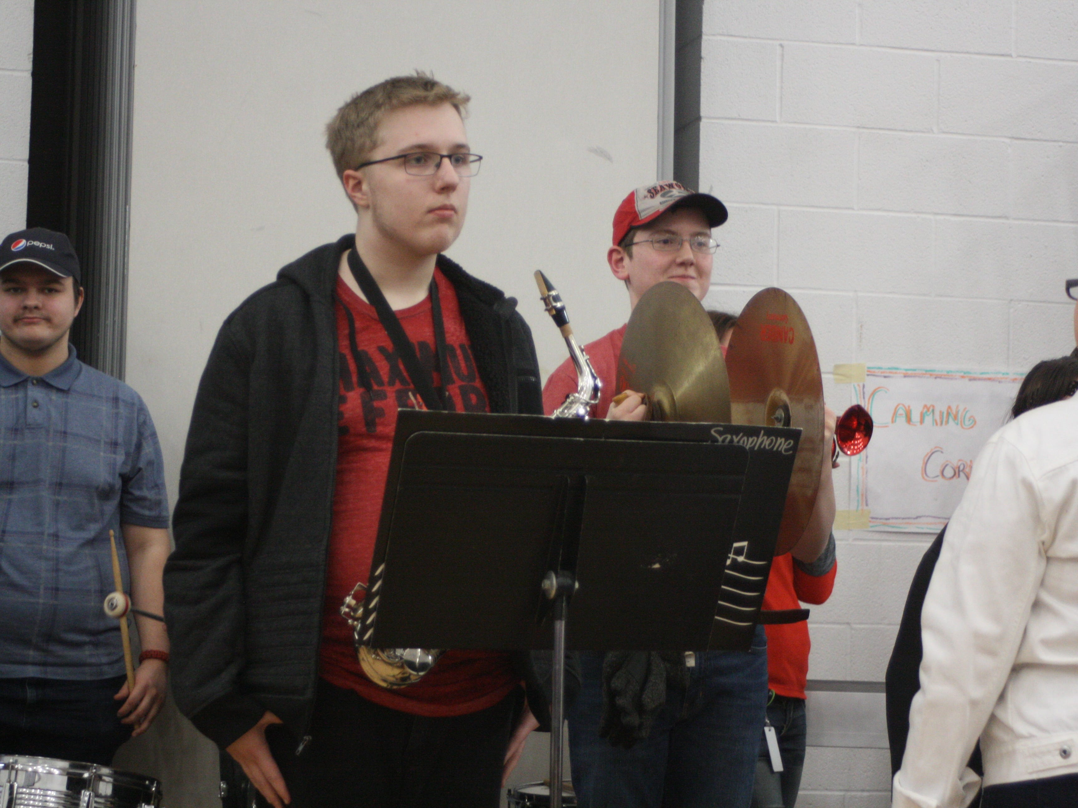 Jared Lamb, a 16-year-old Tioga resident, will travel across the world toAbu Dhabi to attend the games from March 14-21. A pep rally in Jared's honor was held on the Broome-Tioga Boces main campus Friday afternoon.