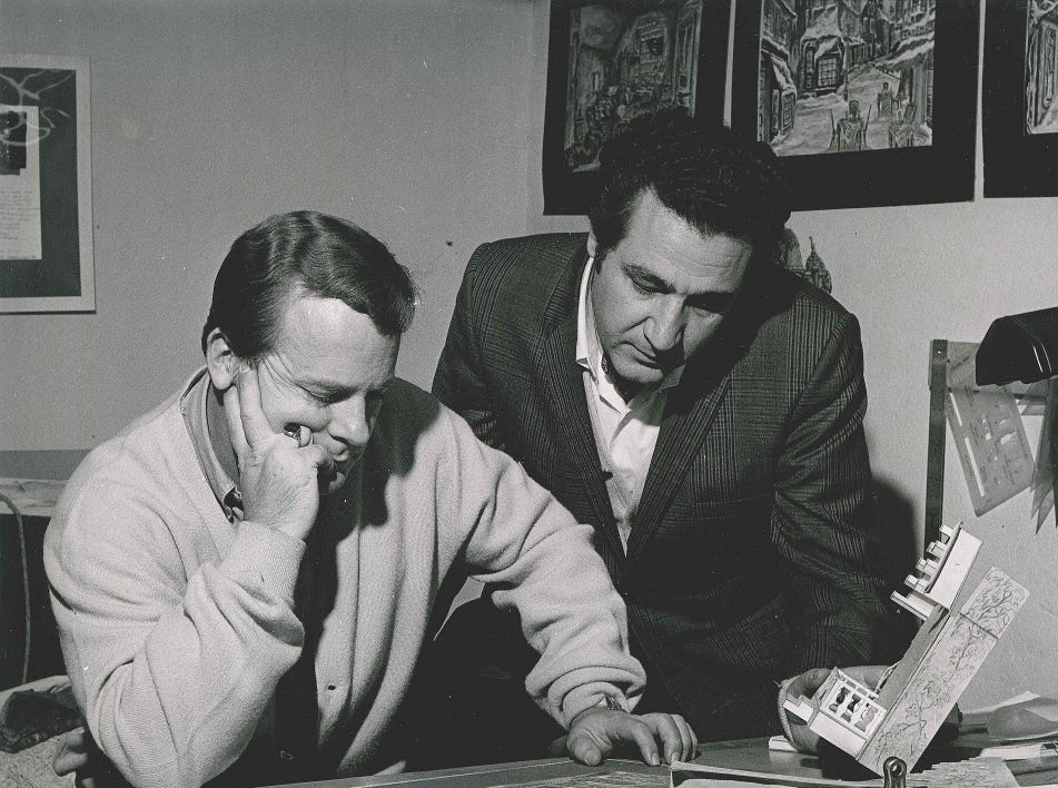 Peyton Hibbitt (left) and Carmen Savoca (right) were the co-founders of Tri-Cities Opera.