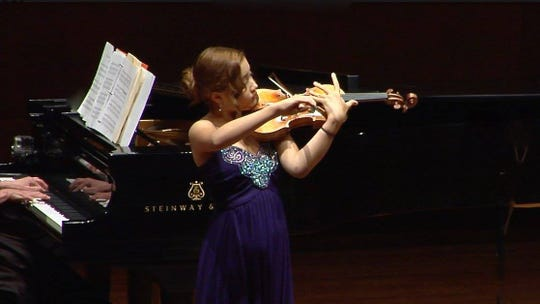 Violinist Tabitha Mason joins the Bremerton Symphony for its March 9 program at the Admiral Theatre.
