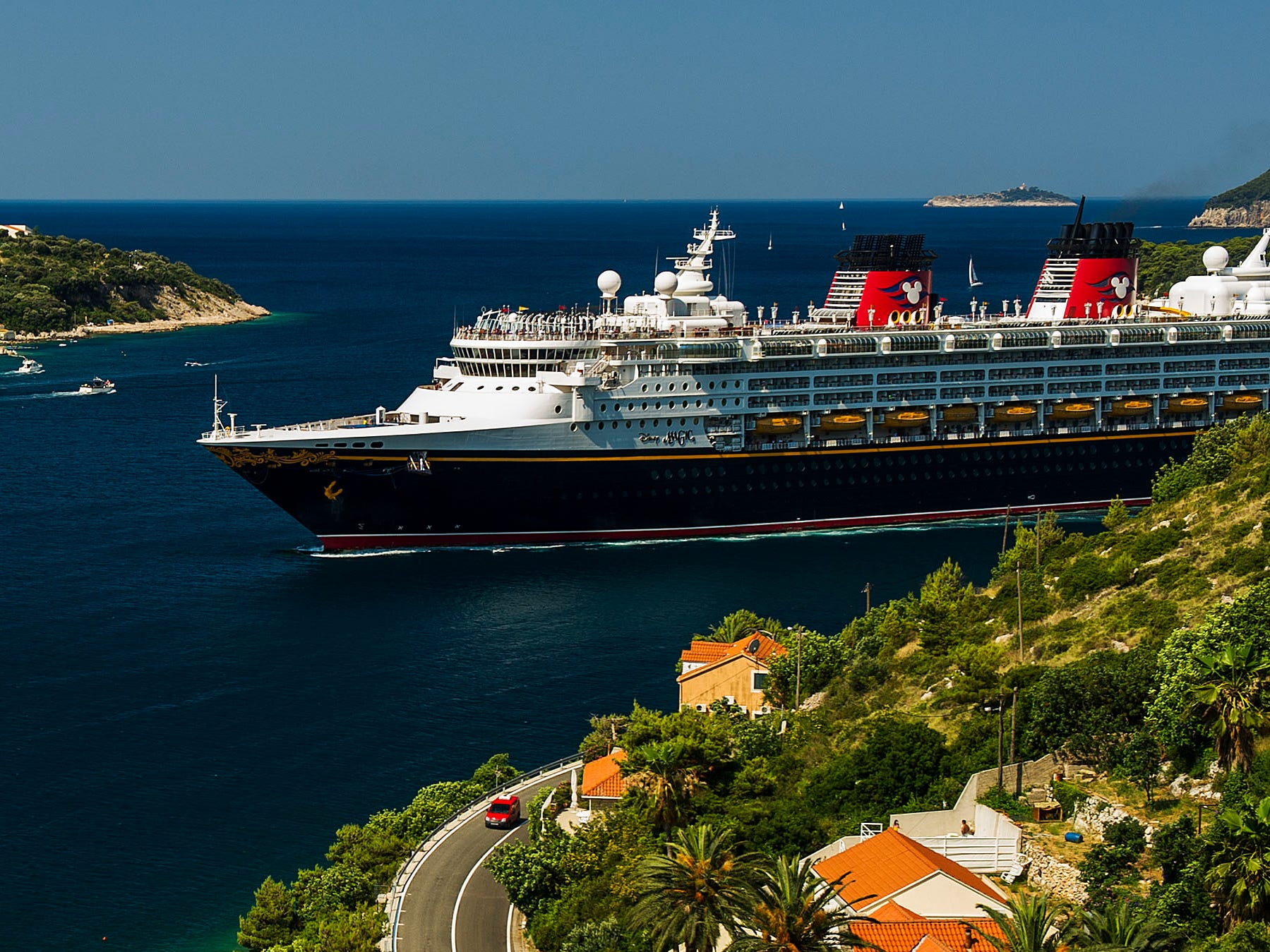 """After a five-year hiatus, the Disney Magic will return to Greece in summer 2020 as part of three special Mediterranean voyages departing from Rome. One of these sailings features a return to the """"Pearl of the Adriatic,"""" Dubrovnik, Croatia, for the first time in five years."""