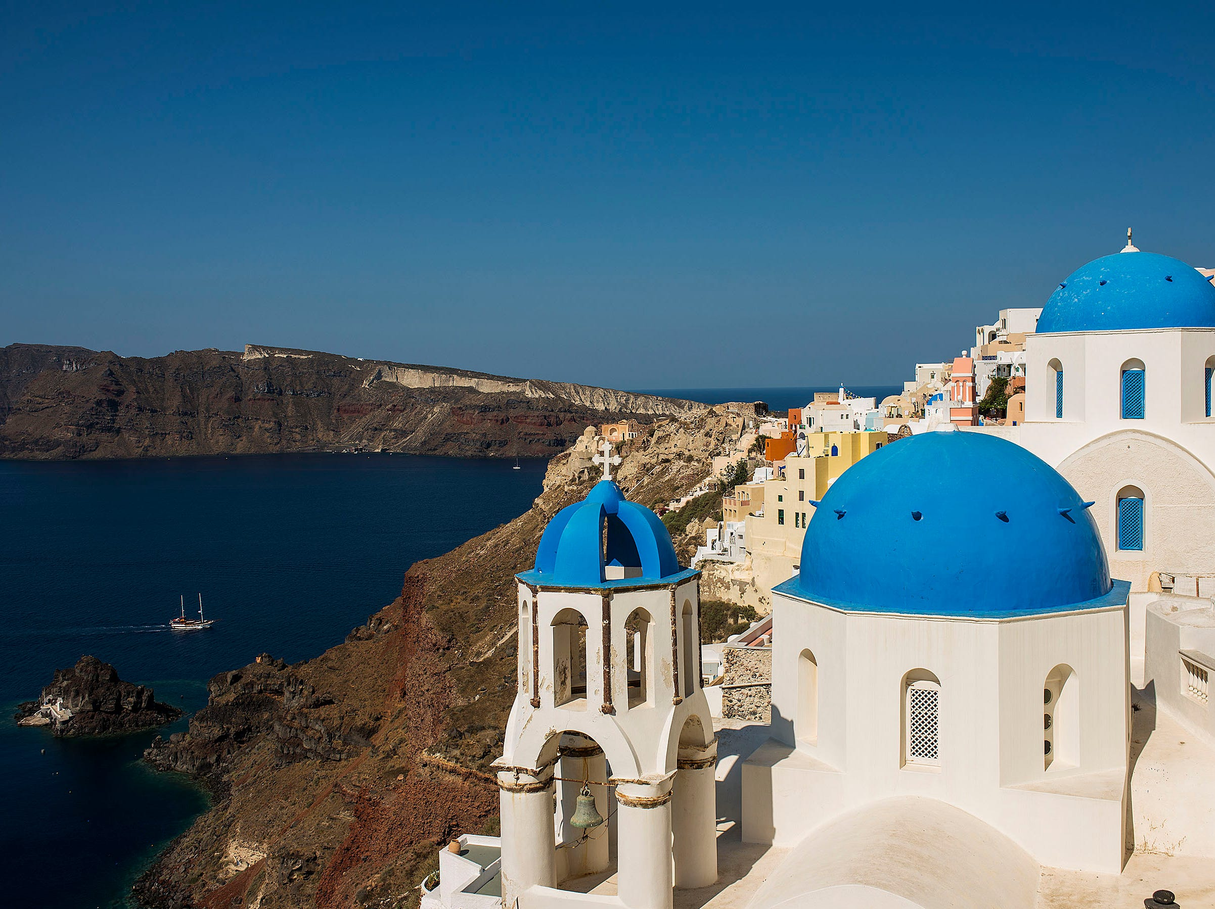 In summer 2020, Disney Cruise Line will embark on a variety of itineraries around the world, including a long-awaited return to Greece and the addition of five first-time ports of call in Europe. During one 12-night and two nine-night cruises from Rome, guests can marvel at the beautiful landscapes and archeological wonders of destinations like Piraeus, the gateway to Athens; Katakolon, near ancient Olympia; and the islands of Santorini, Mykonos and Crete.