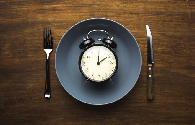 Intermittent fasting refers to an eating style where one eats within a specific time period and fasts the rest of the time.