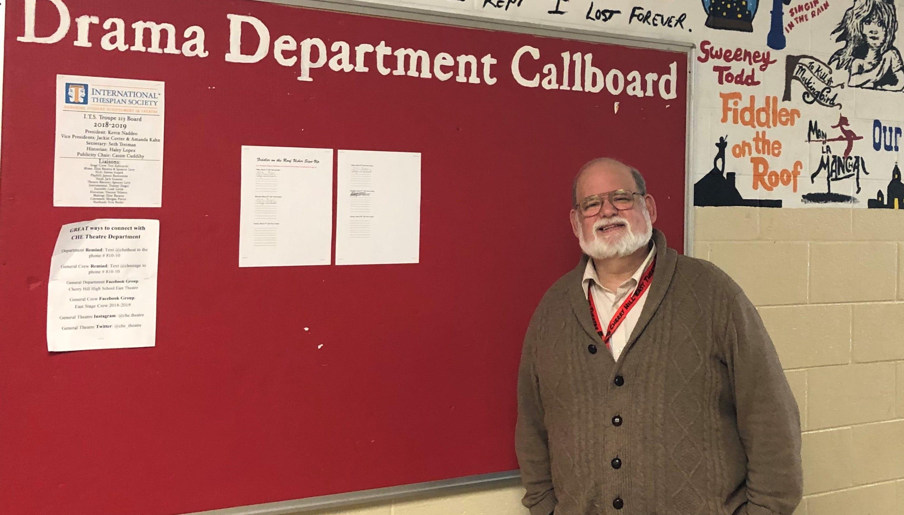 Cherry Hill East drama teacher Tom Weaver reflects before retirement