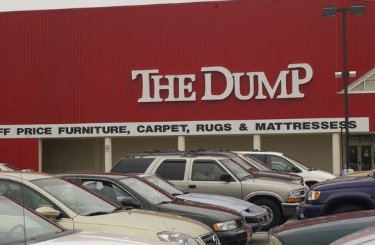 The Dump, a discount furniture store, is closing its lone South Jersey store in Washington Township.