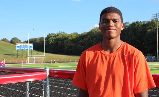 Zane Trace High School football player Etheridge Games understands the importance of proper treatment when dealing with concussions and brain health.