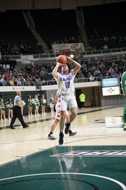 Zane Trace's Cam Evans earned first team all-district honors in Division II.