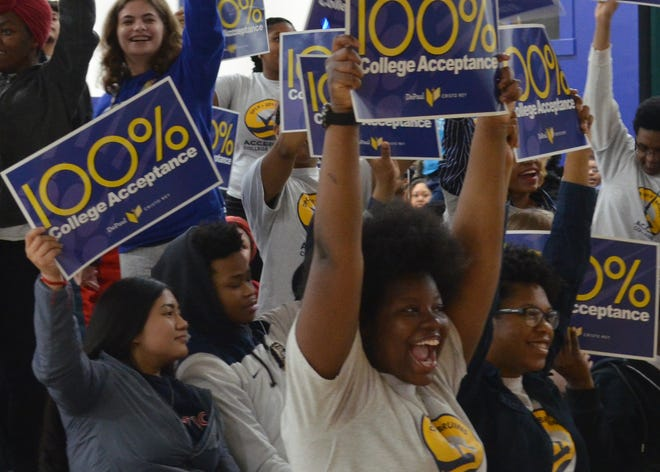 The DPCR Class of 2019 celebrated a 100-percent college acceptance rate in spring 2019.
