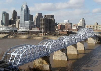 Owners of the pedestrian-only Purple People Bridge started a GoFundMe in March 2019, to help raise $1 million to repaint the bridge.