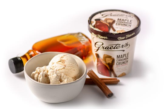 Graeter's newest flavor is Maple Cinnamon Crunch.